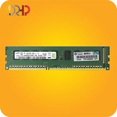HP 2GB (1x2GB) Single Rank x8 PC3L-12800E (DDR3-1600)