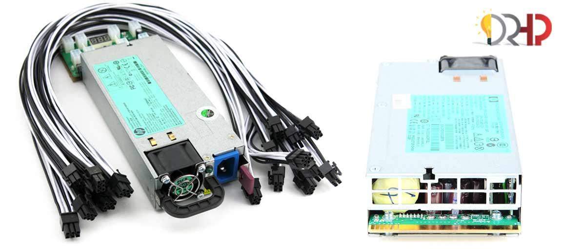 hp 1200w hot plug power supply