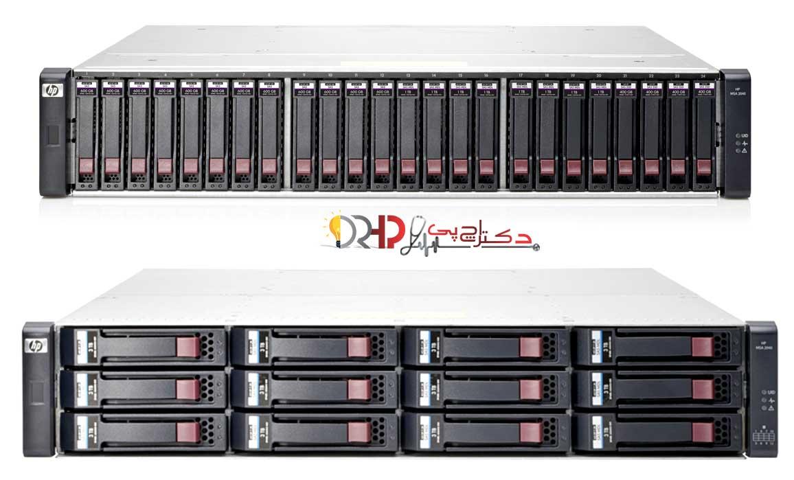HP MSA 2040 Storage Review DRHP.ir